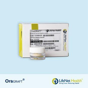 OraGRAFT® Hueso Cortico-Esponjoso Particulado 50% Cortical 50% Esponjoso