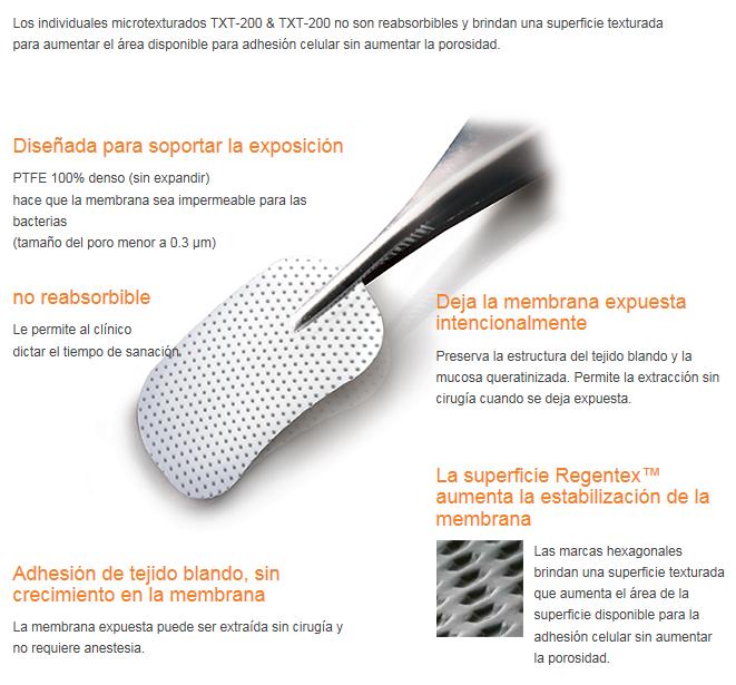 CYTOPLAST® Membrana no reabsorbible PTFE Non Titanium-reinforced.