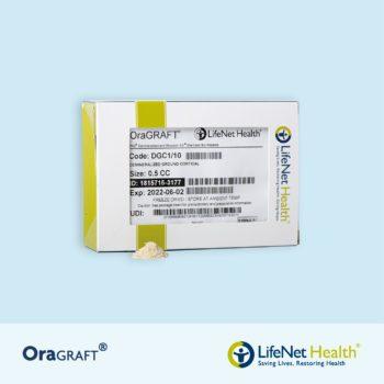 OraGRAFT® Hueso Cortical Particulado Desmineralizado 100% (DFDBA)