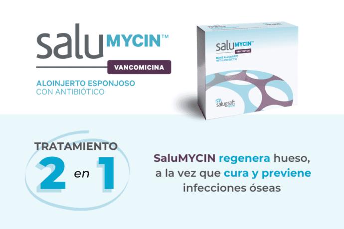 Por qué usar SaluMYCIN aloinjerto antibiótico